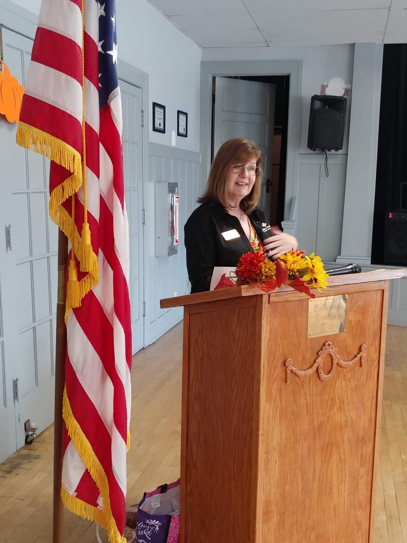 Mrs. De Leon, Guest Speaker